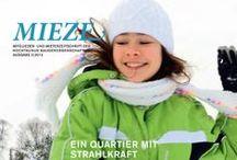 Die MIEZE / Für die Hochtaunusbau in Bad Homburg hat FuP die seit vielen Jahren bestehende Mieterzeitung in ein neues Gewand gehüllt. Die MIEZE informiert die Mieter halbjährlich über alles Wissenswerte rund um ihre Genossenschaft. Texte, Bilder und Layout werden für jede Ausgabe von FuP erstellt. Mehr Informationen zu Mieterzeitungen gibt es auch unter www.fup-kommunikation.de