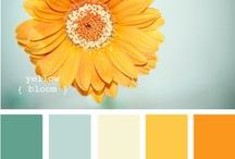 Color Inspiration / Crochet Color Ideas for decorating or crafting!