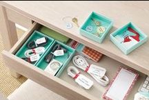 Everything in Its Place / Ideas for organization and tidiness, because everything needs a home.