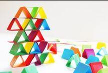 Bricolages avec du papier / Idées et tuto de bricolages et autres activités pour les enfants, à base de papier (blanc, couleur, crépons, journal, magazine...).
