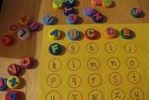 Alphabet, lecture et pré-lecture
