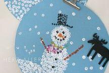 Bricolages d'hiver pour enfant / Bricolages et activités manuelles pour enfant sur le thème de l'hiver. Des bricolages faciles pour la maternelle (ou plus jeune) et un peu plus élaboré pour les enfants de primaire et les plus grands : pingouins, ours, flocons et bonhommes de neige sont au rendez-vous !