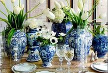 Blue and White Decor / Blue and White Home Decor! Home Decorating at its best! Enjoy!