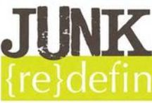 *JUNK Redefined* / recycled junk items made into treasure