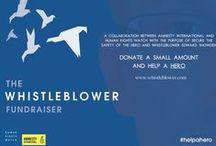 Holdningskampanje - Whistleblower