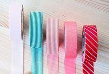 Washi-tape / Déco, scrapbooking, bricolages avec du washi-tape