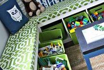 Chambre d'enfant / Inspiration pour trouver une déco et des idées d'aménagement pour une chambre d'enfant originale et pratique. Pour bébé, garçon, fille ou mixte : du lit aux cadres, en passant par les rangements, cabanes et autre tipis !