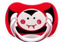 Halloween Suavinex / Una colección de miedo con chupetes terroríficamente divertidos para tu bebé. ¿Con cuál te quedas?