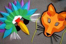 Bricolages carnaval et déguisements d'enfant / Des activités manuelles et bricolages pour enfant sur le thème du carnaval : des masques et des déguisements faciles à fabriquer. Quelques tutos couture facile pour les adultes qui voudraient faire un déguisement maison à leur enfant ! Prêt pour mardi gras ?