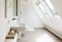 BATHROOM SPACES / A classy bathroom makes for a classy home.