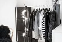 CLOSET SPACES / My favorite part of my home is my well organized closet.