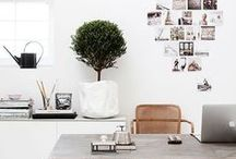 OFFICE SPACES / Minimal spaces are my ideal work zone.