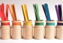 Patyczki drewniane (Wooden Sticks DIY) / Pomysły na wykorzystanie drewnianych patyczków. Patyczki możecie zakupić w naszym sklepie pantin.pl