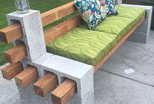 Terrasse - Balkon / Deko-Ideen für den Balkon, die Tereasse oder auch den Garten!