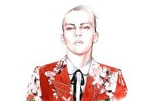 Fashion sketchbook / Fashion illustration