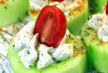 APPETIZER (CUCUMBER & YOGHURT / salatalık ve yoğurt)