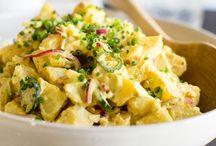SALADS (POTATO / patates)