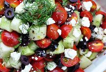 SALADS (TOMATO, CUCUMBER, CHEESE)