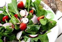 SALADS (ARAGULA, LETTUCE / roka, kıvırcık salata, marul)