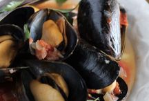RECIPES WITH MUSSELS / midye