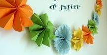 Origami facile et kirigami pour enfants / Tuto origami facile à faire avec les enfants : quelques bouts de papier, un peu de pliage pour faire des animaux, des fleurs, des décos de Noël ou de simples avions en papiers. Mais également des tuto kirigami : du papier, du pliage et un peu de découpage !