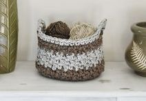 Crochet Baskets / Crochet Baskets Pattern, Free Crochet Basket Pattern, Crochet Basket Tutorial, Crochet Baskets Rope, Crochet Baskets Twine, Crochet Baskets Easy