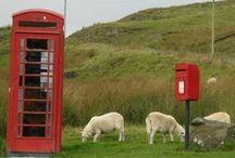 Telephone boxes / by Dirk Jan Groot