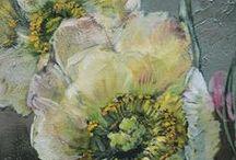 Floral / Herbier, planches botaniques, fleurs.