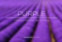 Purple - Inspiration / All things purple that inspire us - Mixture of Sandler Seating products and images that we have discovered to set the colour trend.