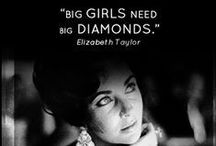 Diamond Quotes / What others say about diamonds.