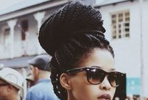 Box Style / #Twists #braids #afro #curly #ebony #girl #hair