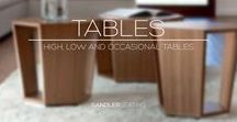 Tables / Explore our range of tables including general, high, low and occasional tables