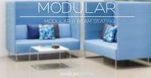 Modular Seating / Explore our diverse range of modular seating elements, including beam seating