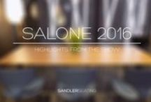 Sandler Seating - Salone Del Mobile 2016 / Images from our brands and visit to Milan for the 2016 Salone.