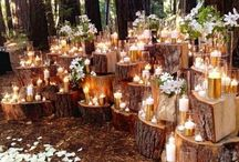 Deko mit Kerzen