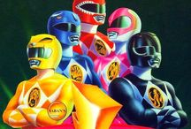MMPR / My childhood heroes.