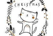 illustration - Merry Christmas / illustration - Merry Christmas