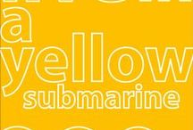 we all live in a yellow submarine  ;) / by Hanne O.