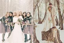 Winter Wedding / Nobody's getting cold feet this winter! Plan a wedding so festive, it'll melt your guests' hearts.