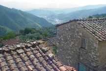 Casa Dei Sogni, Lucca Italy (Tuscany) / Here a person has 12 senses, not 5, in the hilltop villages of the Brancoleria outside of Lucca