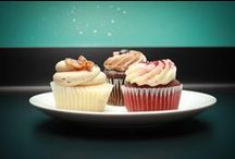 Cupcakes by The SweetSpot Bakehouse / Cupcakes make a great party treat! Celebrate weddings, birthdays, or every day life with a delicious cupcake.