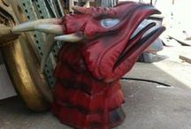 Props / Foam props for stores, museums, trade shows, movies, theater
