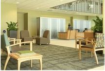 Health Care/Aged Care / Create healthy healing indoor environments with carpets that promote indoor air quality and give the best antimicrobial/infection control protection. Choose from plastic backings that capture spills and incontinence or moisture barriers and attached cushions for dimensional stability during wheel chair use.