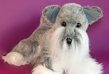 Pet Comparisons / Comparing real live dogs and cats with our Memorable Pet stuffed animal dogs and cats that benefit people with Alzheimer's disease.
