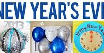 Holidays - New Years / Ring in the New Year with these great recipes (food & drinks), printables, decorations and games!