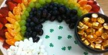 Holidays - St. Patrick's Day / All of these green recipes, crafts, decorations (and more!) will have you seeing the pot of gold at the end of the rainbow this St. Patrick's Day!