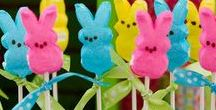 Holidays - Easter / Time to dye Easter Eggs, sit on the Easter Bunny's lap for the annual pictures, Easter baskets and the annual Easter Egg hunt! Get ready with great crafts, recipes and decorations!