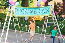 Neighborhood/Block Party Ideas / Great food, fun games and colorful decorations...all you need for a neighborhood block party is right here!