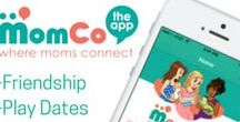 MomCo: The App For Moms / MomCo is more than just an app, it is an entire community that is helping moms feel taken care of. MomCo takes out the awkward moments of having to ask for another mom's phone number at the park. We have all been there! With MomCo, it is effortless to meet moms and start building your tribe. Join us! It is free to download and is available on iPhone and Android.