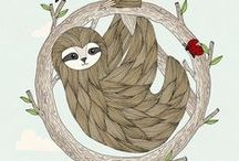 OMG Sloths! / Fueling our sloth obsession.